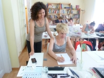 Taller de Ilustración Botánica del 7 al 11 de julio de 2014